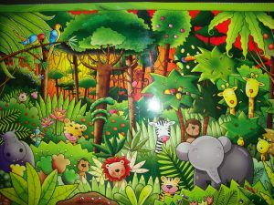 Imagenes De Animales De La Selva Animados Funny Puzzles Tropical Rainforest Illustration