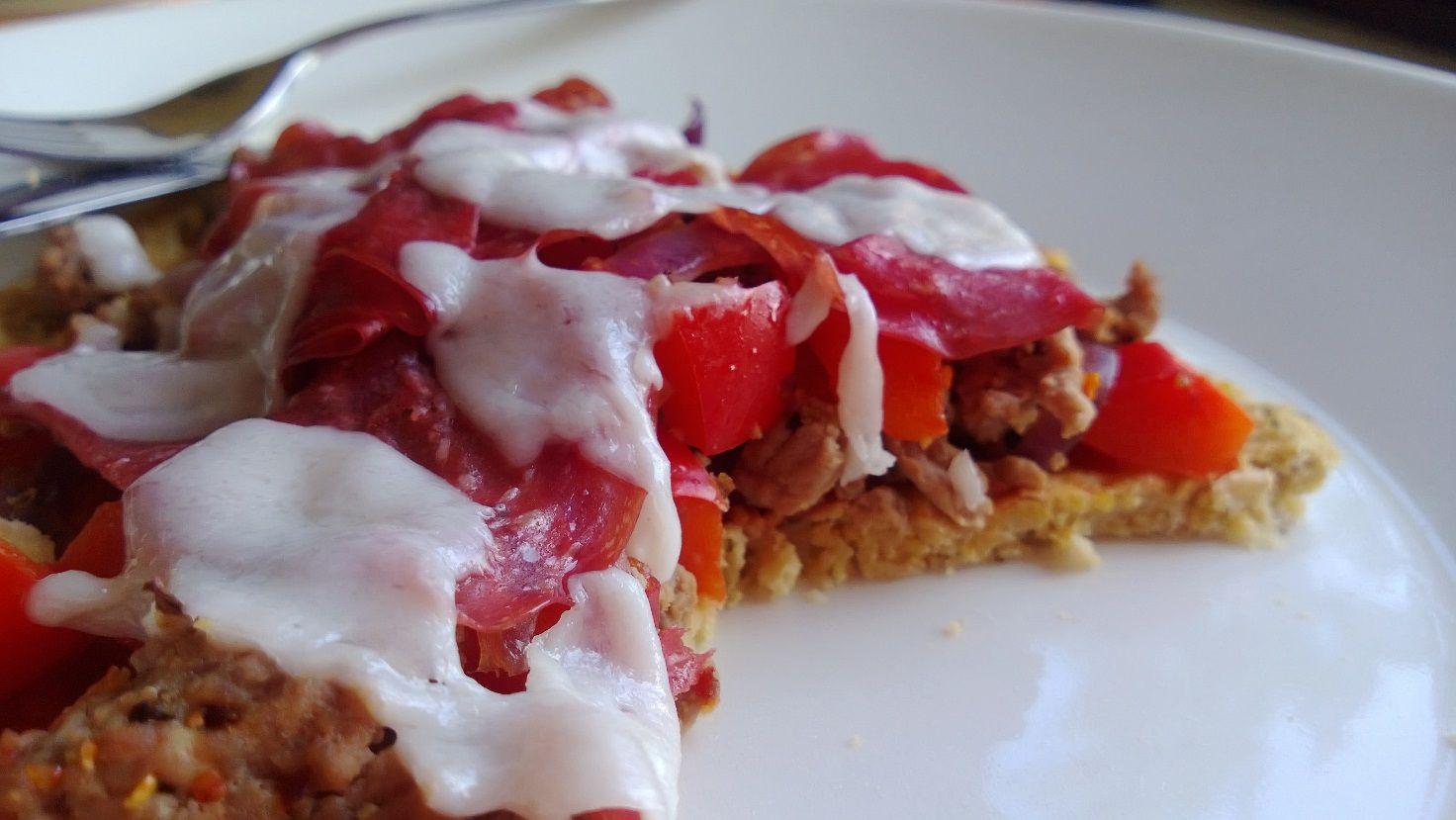 Gluteeniton proteiinipitoinen pitsapohja