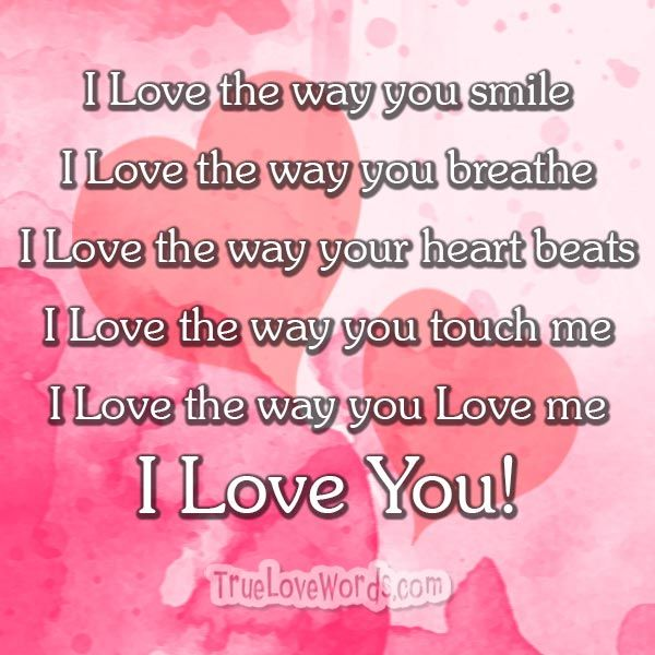 I Love You Messages For Her Because I Love You Romantic Relationships And Messages