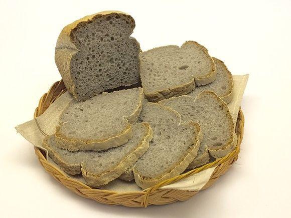 Pane in cassetta semi integrale senza glutine con sale nero
