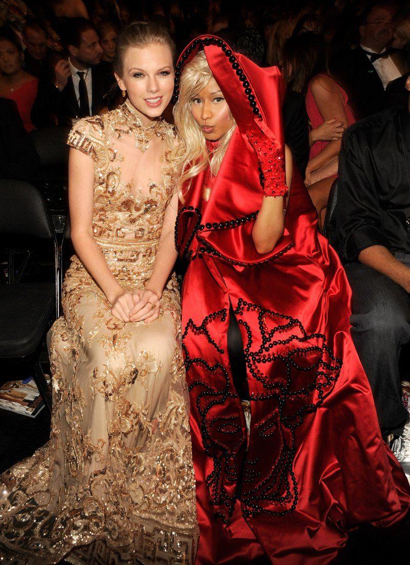 Taylor Swift And Nicki Minaj Nicki Minaj Taylor Swift Photos Of Taylor Swift Taylor Swift Pictures