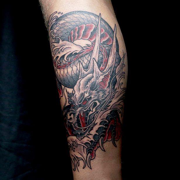 Elimination Tattoo Japanese Dragons Ink Master Japanese Dragon