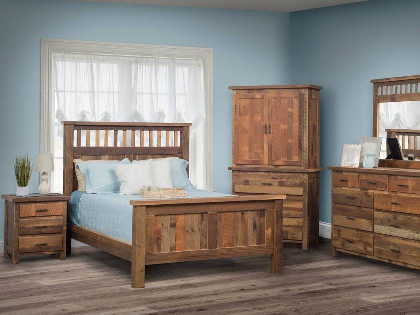 Limington Barnwood Bedroom Set Countryside Amish Furniture Furniture Bedroom Sets Amish Furniture Bedroom