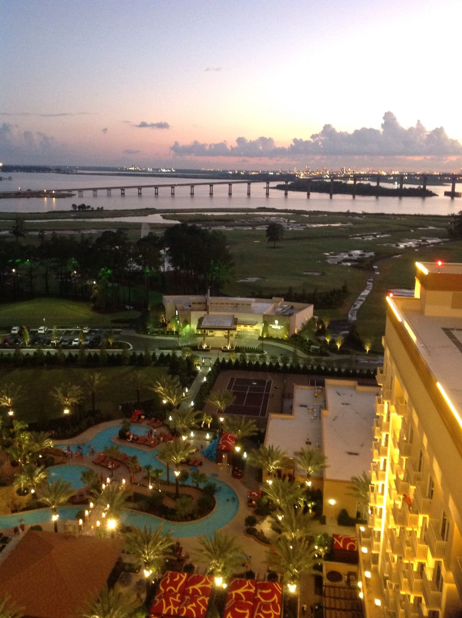 View From Golden Nugget Lake Charles La Lake Charles Louisiana Lake Charles Favorite City