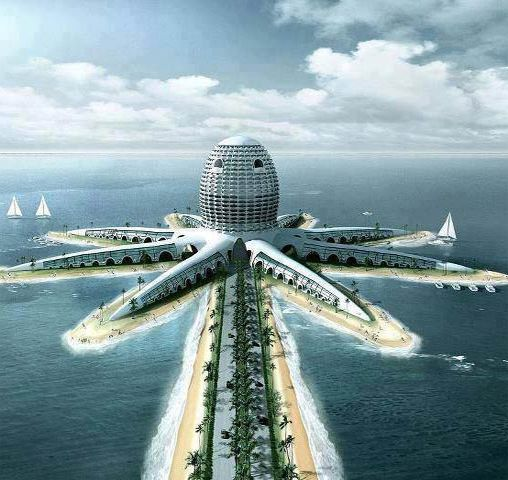 Awesome underwater hotel to be built in dubai uae for Beautiful hotels in dubai