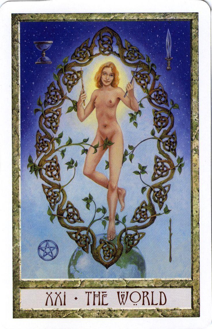 Afbeeldingsresultaat voor The Druidcraft Tarot