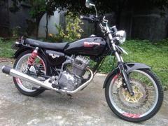 Honda Gl Pro Modif Honda Cb 100 Classic Honda Gl Pro