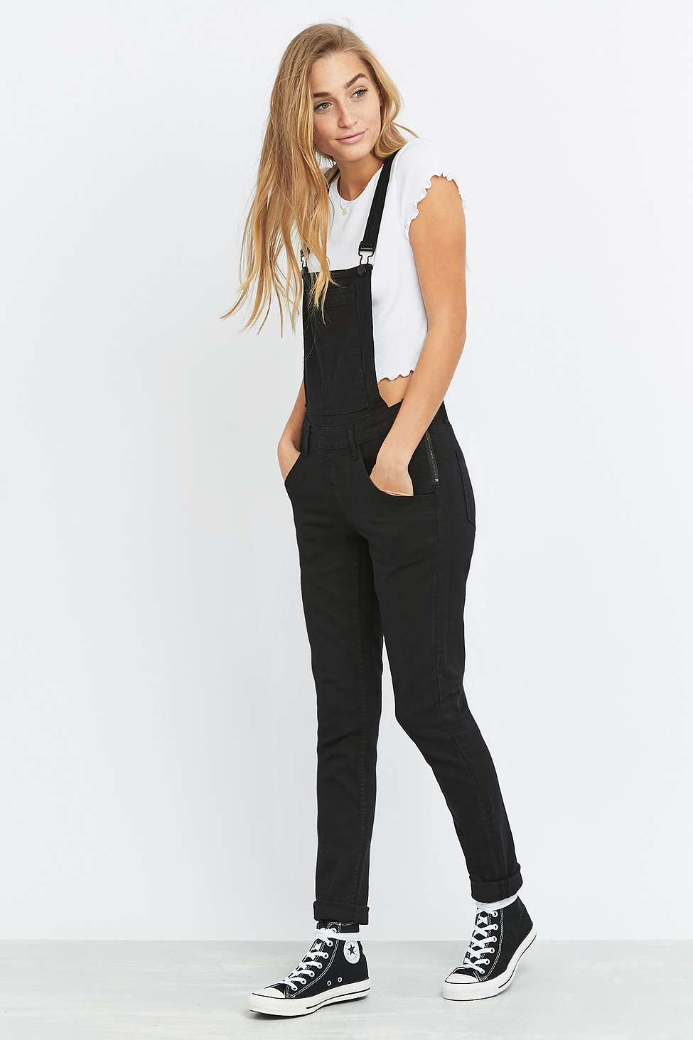 Womens New Black Dungarees Cheap Monday 8IKIlymr
