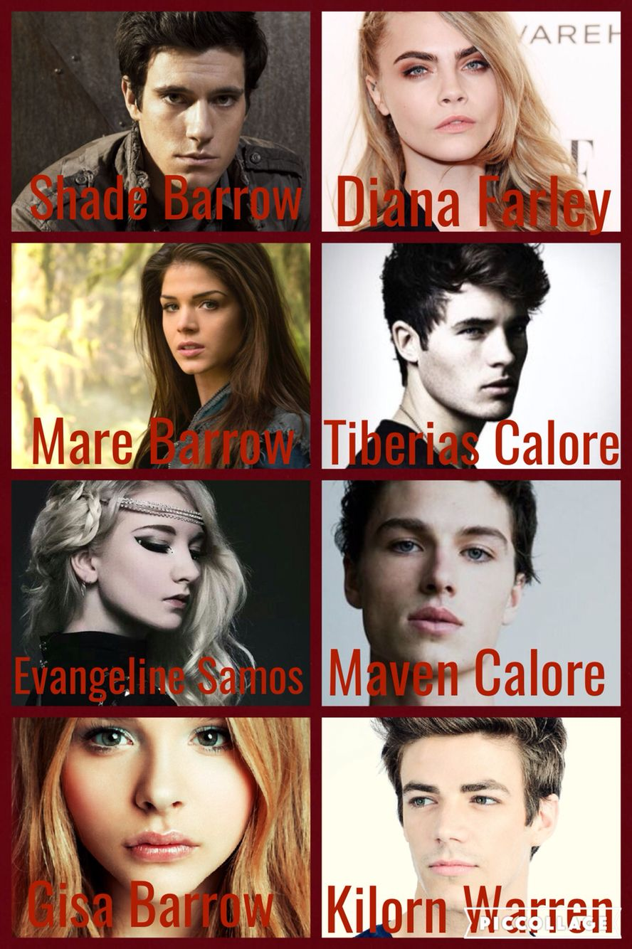Edit by Rhia T Red Queen Dream Cast ♥️ Red queen movie