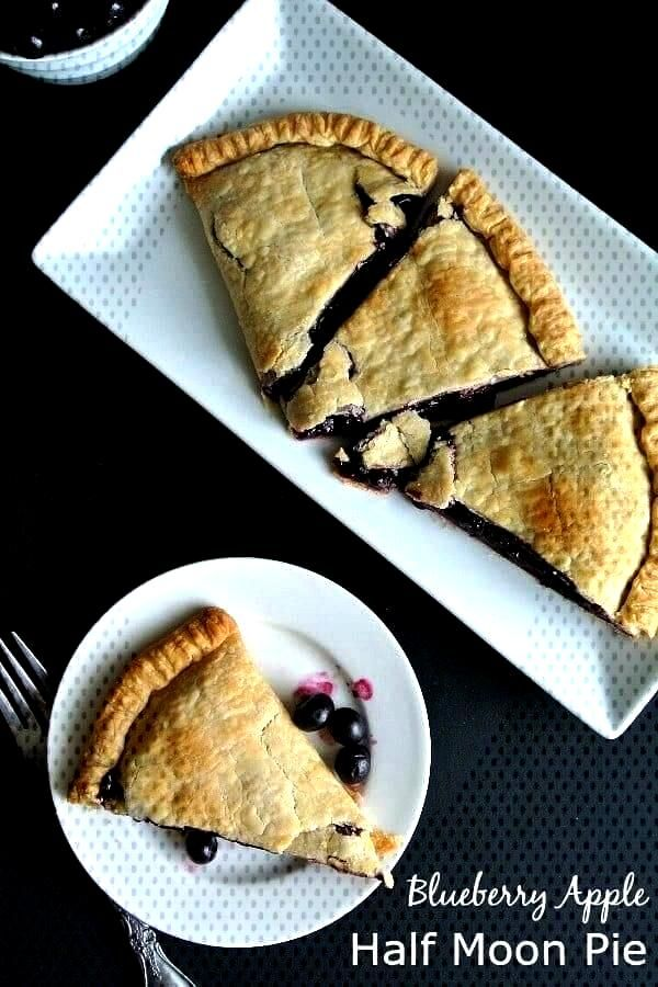 Blueberry Apple Pie Make a Blueberry Apple Pie the easy way. When you don't have much time and yo