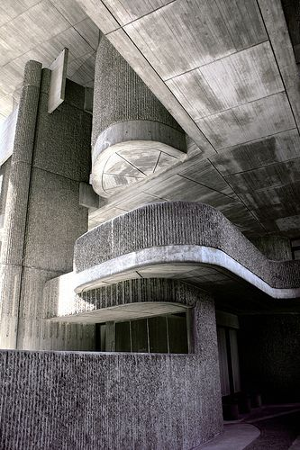 Massachusetts Governmentt Service Center, Boston, Massachusetts, USA. Paul Rudolph, architect. Massachusetts Government Service Center, 1962-71. Incomplete.