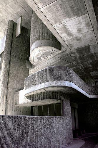 Massachusetts Governmentt Service Center, Boston, Massachusetts, USA. Paul Rudolph, architect. Massachusetts Government Service Center, 1962-71. Incomplete.