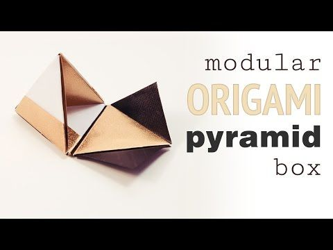 Sweet Origami Candy Box - Video Tutorial (With images) | Origami ... | 360x480