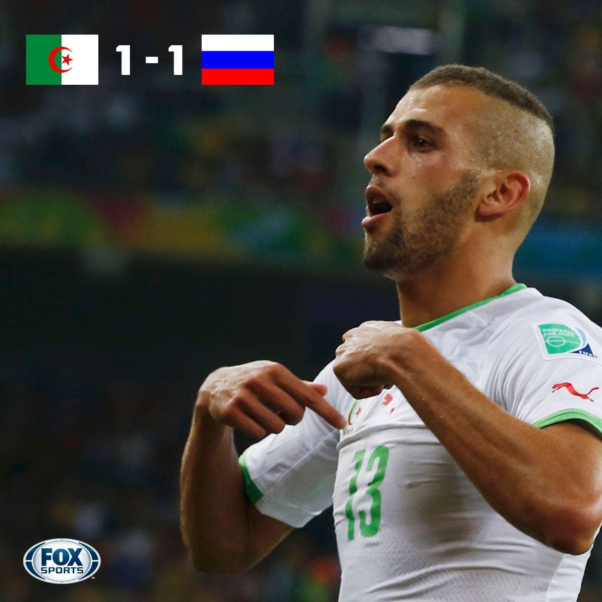 2014 World Cup Group H Algeria advance to firstever