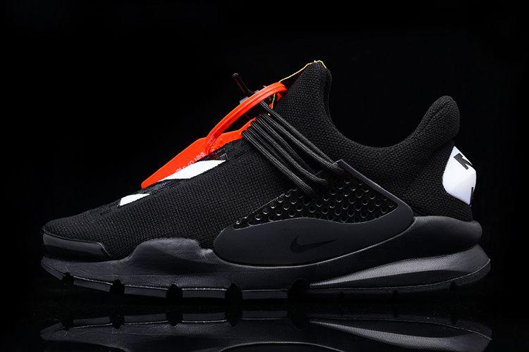 quality design f704d fcb95 Popular Off White x Nike Sock Dart 819686-050 Triple black