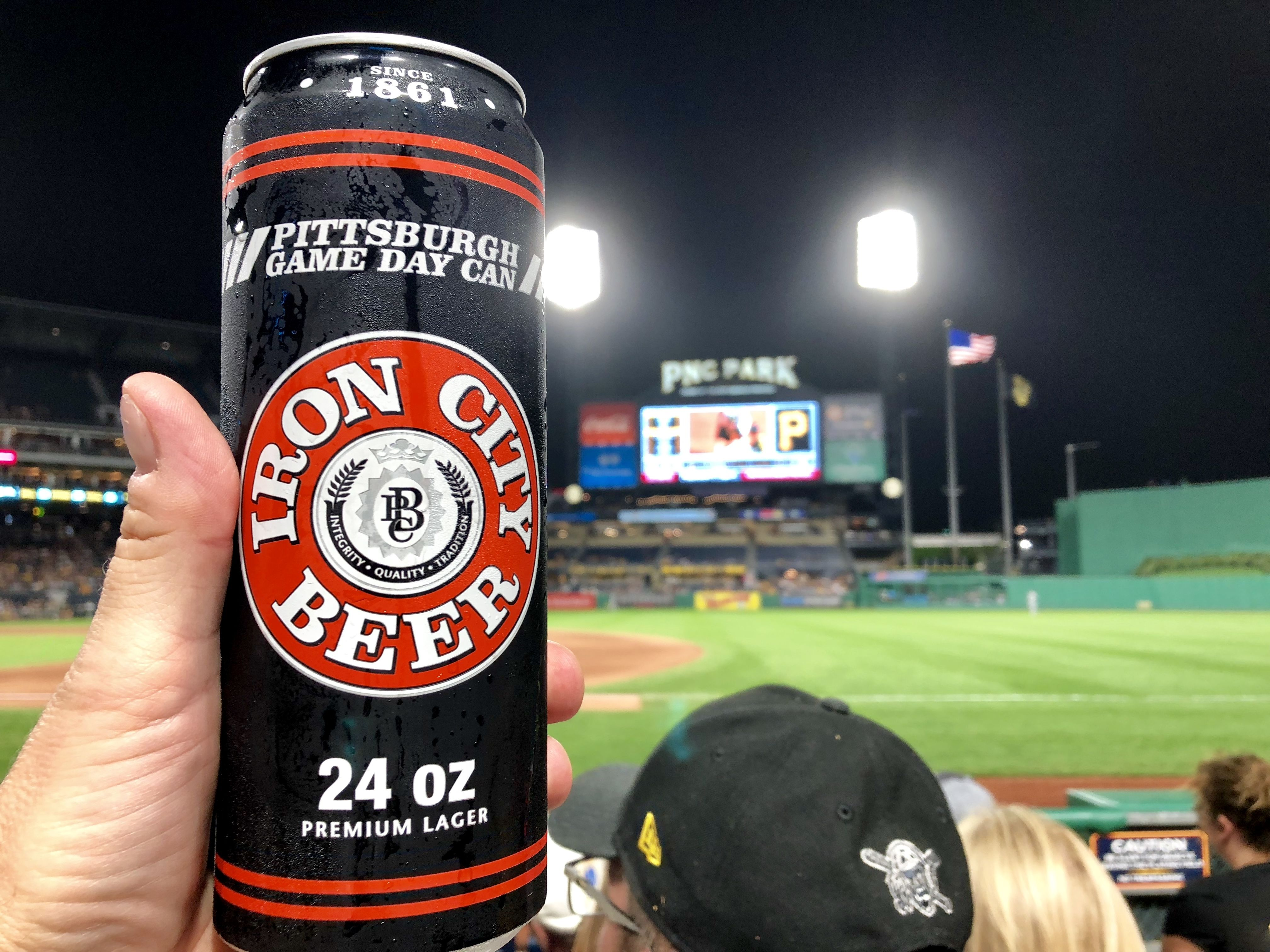 Iron City At Pittsburgh S Pnc Park As The Pirates Play Baseball Beer Brands Play Baseball Unusual Names