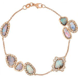 18-karat Gold Diamond Bracelet - one size Kimberly McDonald jNAfP07