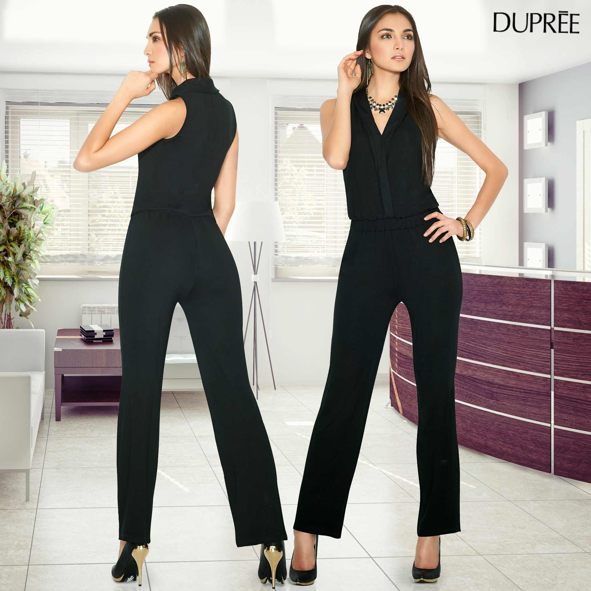 c263c971075 Enterizos elegantes. Moda femenina. Dupree Colombia Moños Para Mujer