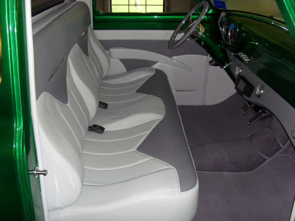 Pictures Of Your Interior 53 56 Ford Truck Enthusiasts Forums Truck Interior Dream Cars 56 Ford Truck