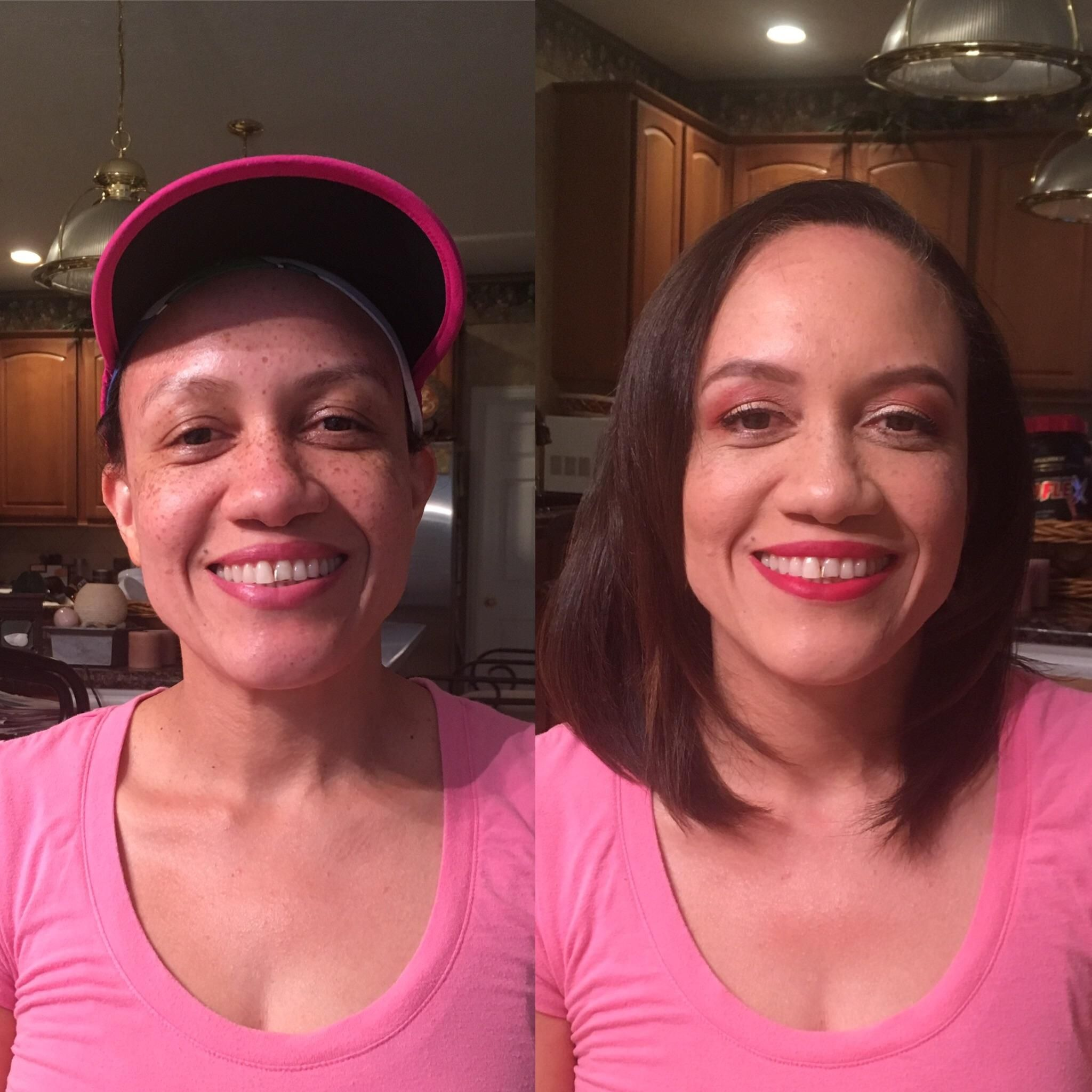 I did my mom's makeup! (CCW)