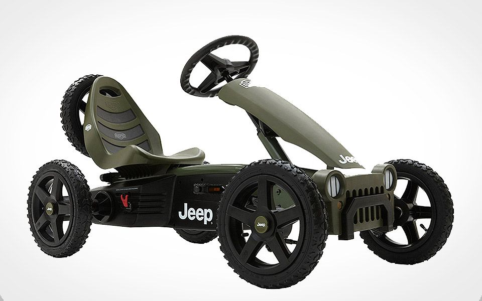 Jeep Adventure Pedal Go-Kart
