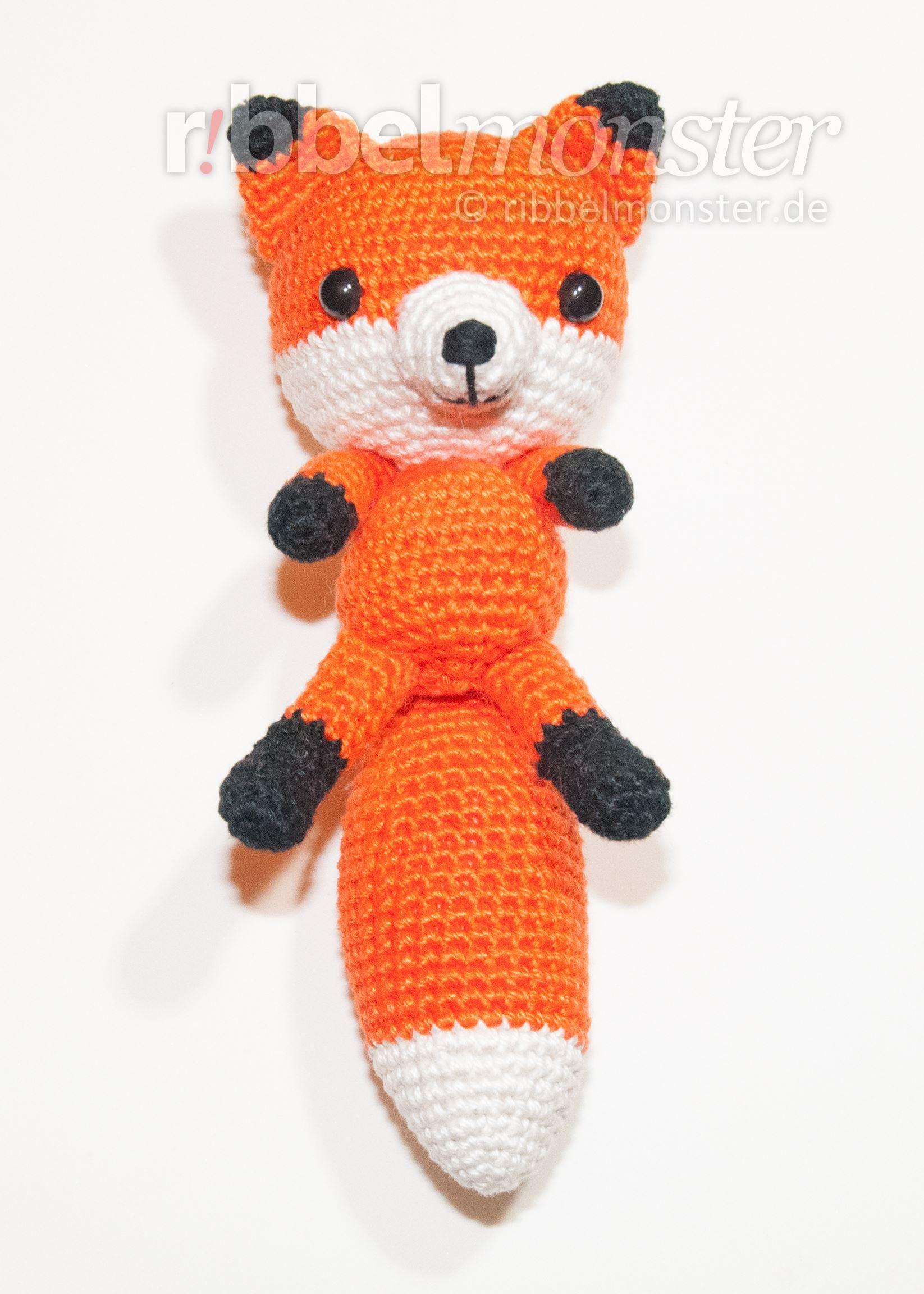 Amigurumi - schlauen Fuchs häkeln - kostenlose Anleitung … | Pinteres…