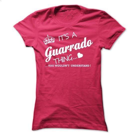 Its A GUARDADO Thing - #tshirts #sweatshirt hoodie. MORE INFO => https://www.sunfrog.com/Names/Its-A-GUARDADO-Thing-pxmib-Ladies.html?68278