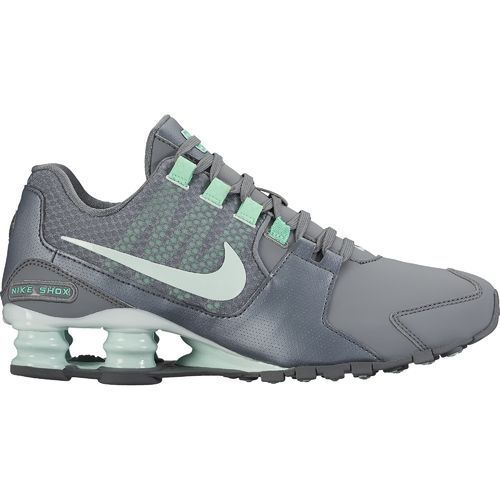 newest 0368d bef53 ... shop nike womens shox avenue se running shoes cool grey barely green  green glow size 8.5