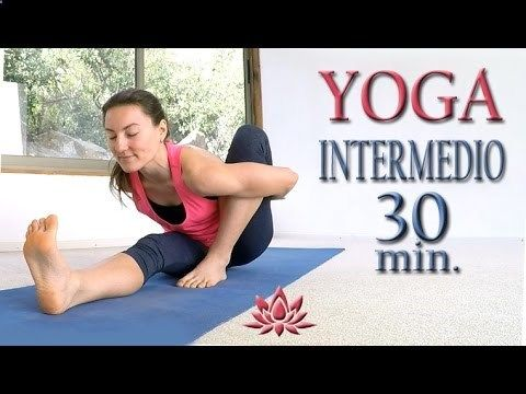 Yoga para bajar de peso nivel INTERMEDIO | Clase 5 - YouTube