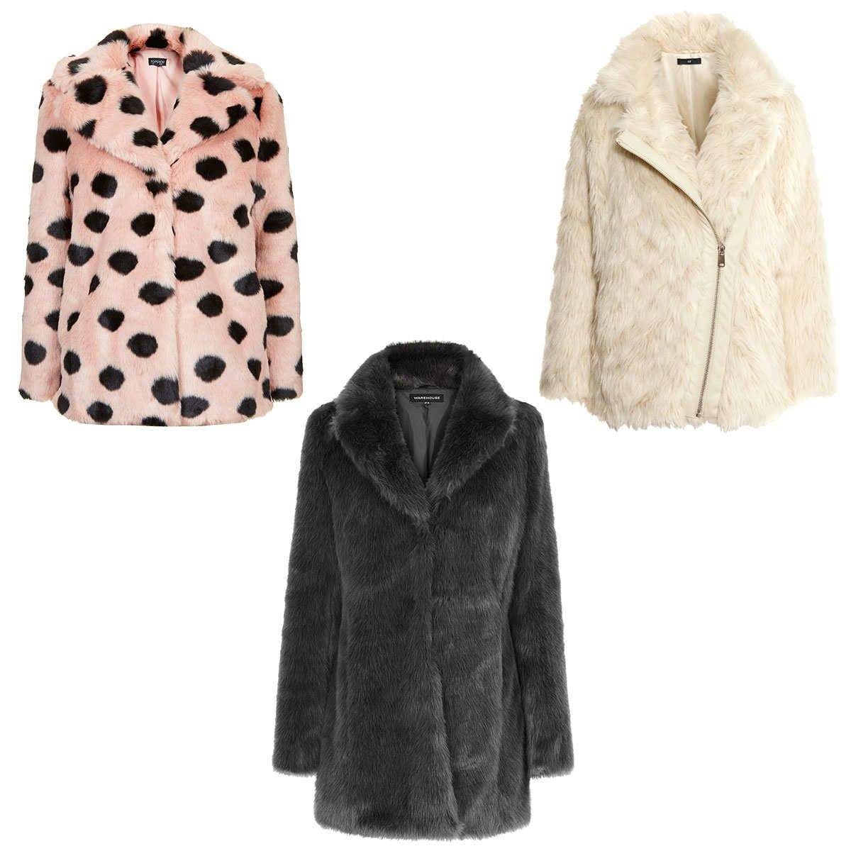 No. 6 — A Thick Faux-Fur Jacket The sheer thickness of faux-fur jackets offers up plenty of insulation while adding texture to an outfit, especially when it comes to dressing for a night out. Here are three more sleek versions if you haven't picked up one yet.