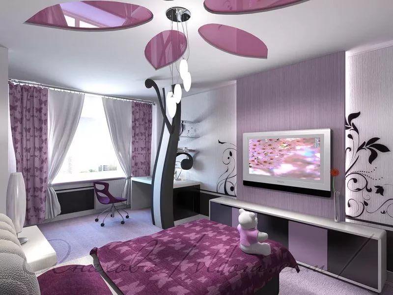 Komnata Dlya Podrostka Devochki 14 Let 10 Tys Izobrazhenij Najdeno V Yandeks Kartinkah False Ceiling Living Room False Ceiling Bedroom Ceiling Design