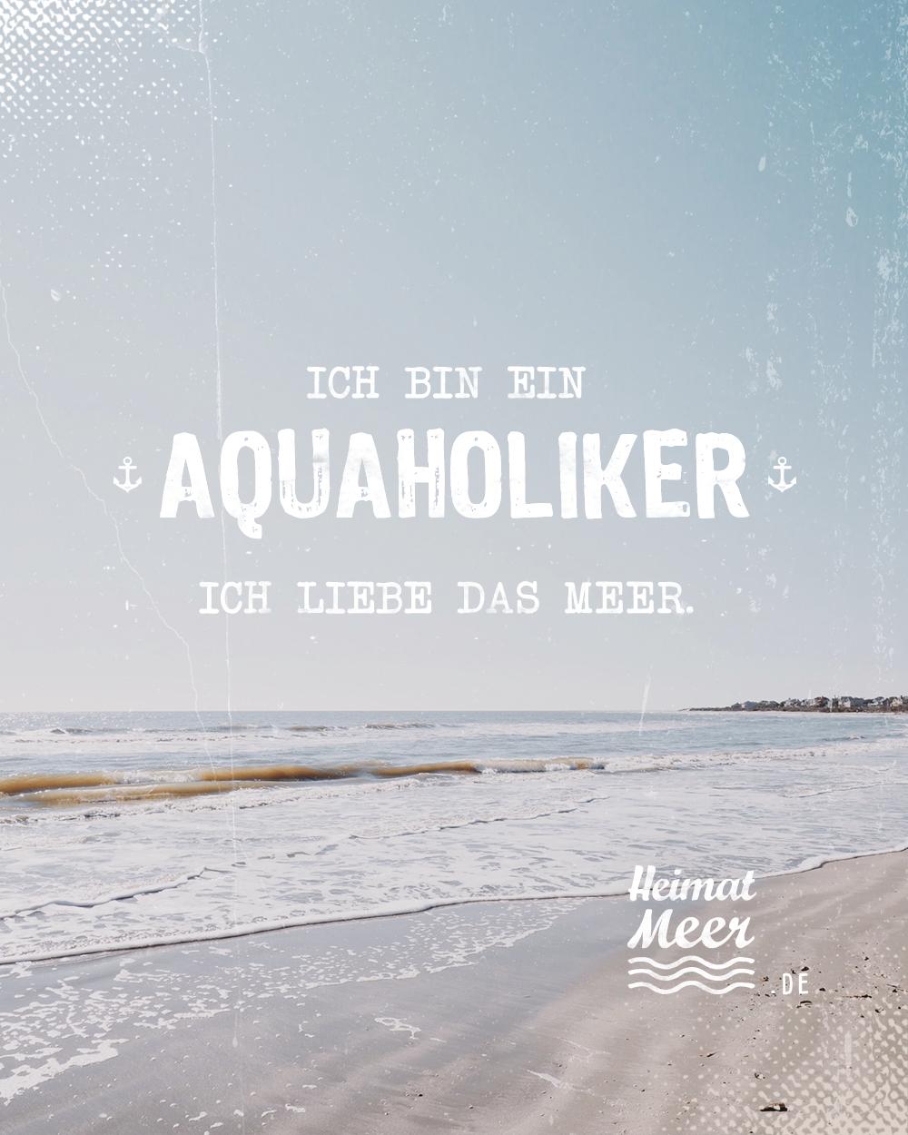Aquaholiker! 💯 Mee(h)r Heimatmeer >>