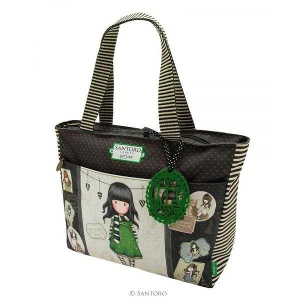 92d260734 Gorjuss Cityscape Carry-all bag - Friends Walk Together - Santoro ...
