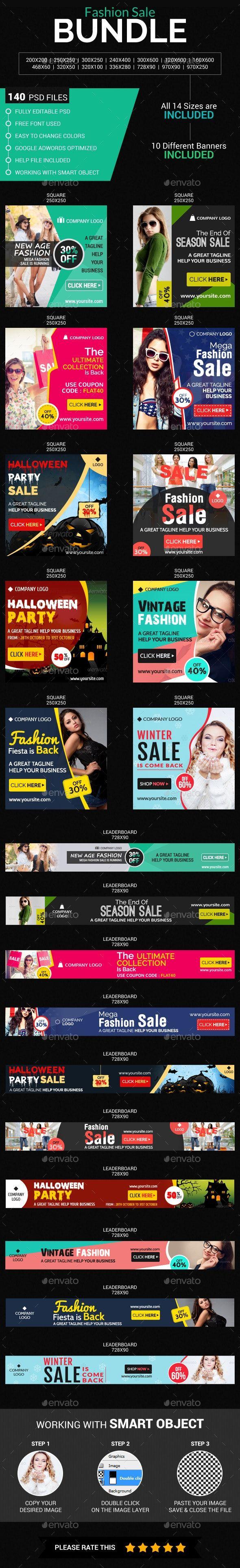 Fashion Sale Banner Bundle