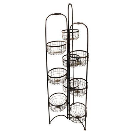 Trista Wall Shelf Metal Storage Racks Storage Rack Large Baskets