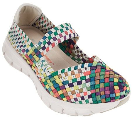 79304ce4d29 Skechers Woven Mary Janes w  Memory Foam - Good Vibes