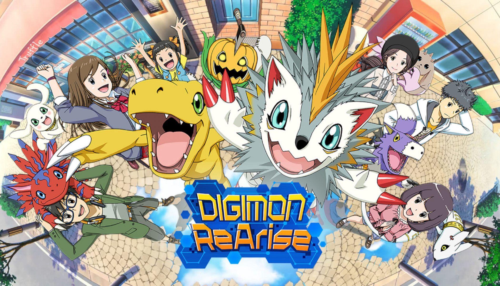 Download Digimon Rearise Mod Apk (English Version Global