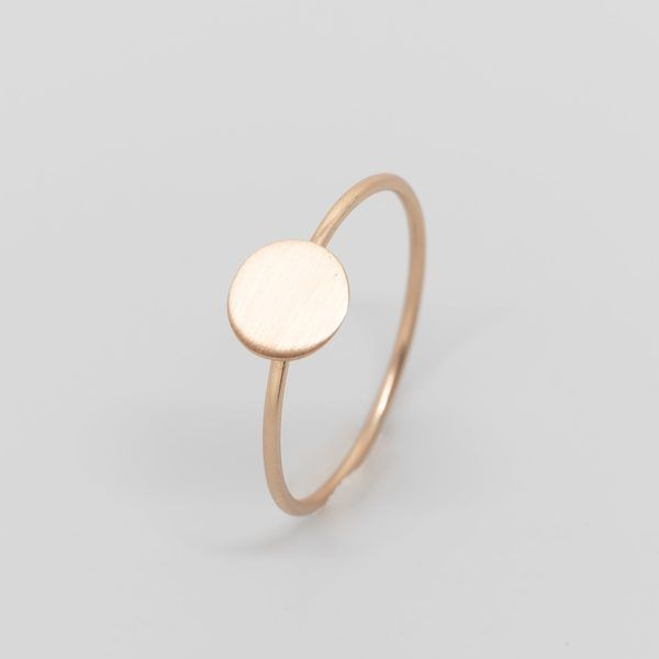Photo of fejn jewelry Ring 'Satin Disc'