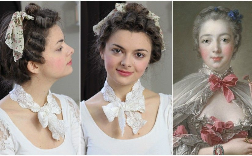 18th Century Hair Flower Girl Hairstyles Historical Hairstyles Retro Hairstyles