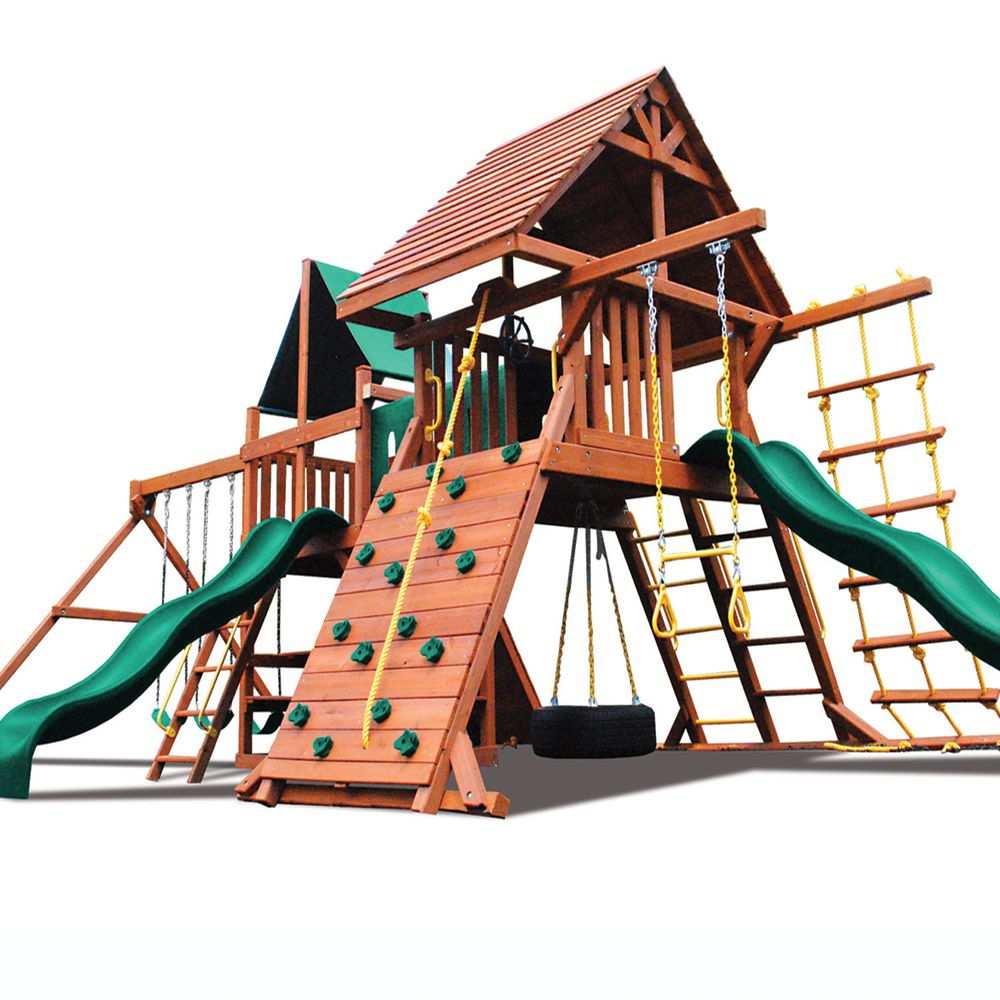 Superior Play Systems Original Double Zinger Wooden Swing