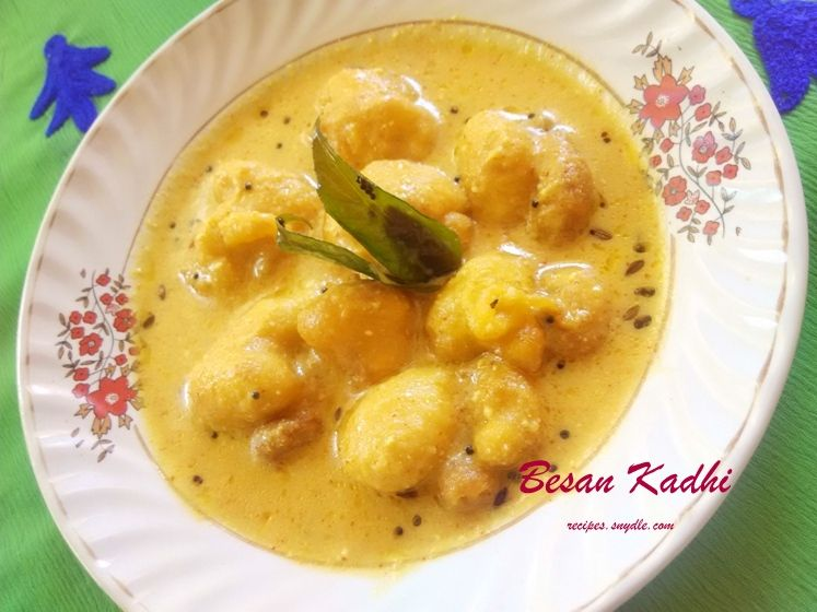 Besan Kadhi Recipe Besan Kadhi With Buttermilk Recipe Besan Ki Kadhi Recipe Yummy Recipes Recipes Buttermilk Recipes Vegetarian Gravy