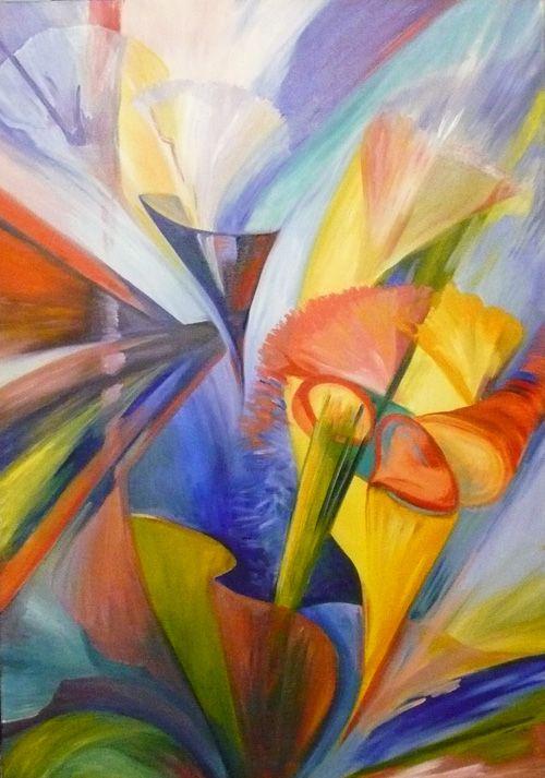 al oleo galeria con precios de cuadros modernos abstractos