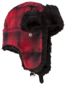 Mossimo Supply Co. Men s Trapper Hat - Red Buffa...   Target  d9185c0e005