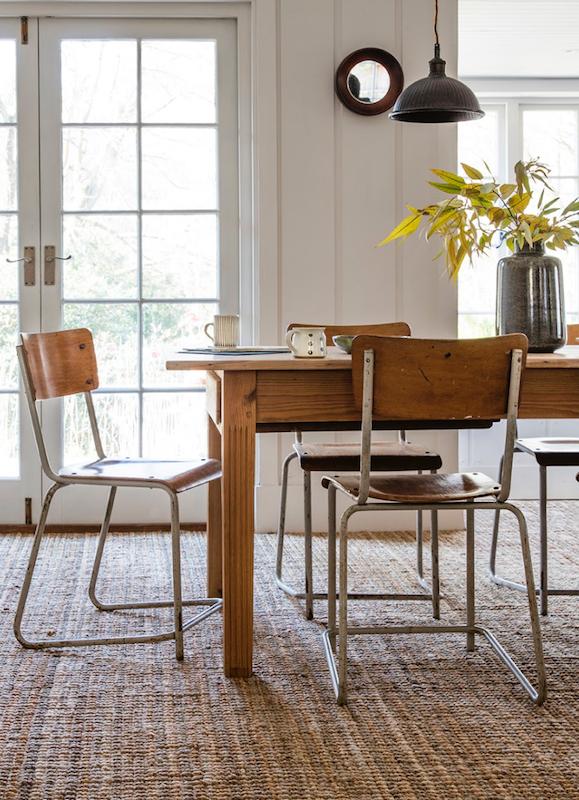 Alternative Flooring's Natural Carpets Dining room decor