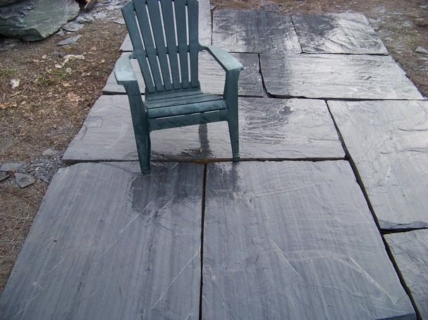 Our Ginormous Ascot Grey Slate Pavers Are Oversized To Create A