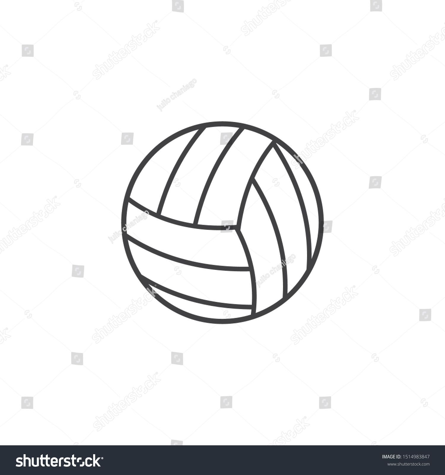 Volley Ball Vector Icon Illustration Design N Ad Ad Vector Ball Volley Designn In 2020 Vector Icons Illustration Illustration Design Modern Graphic Design