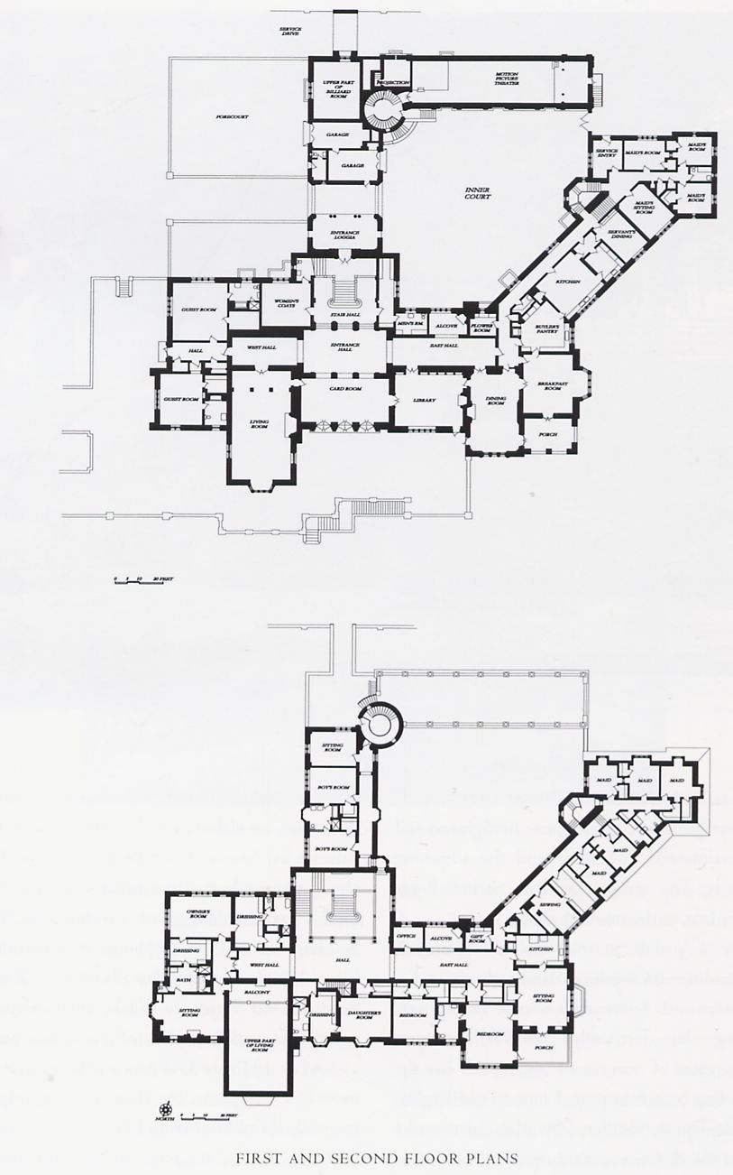28 Breakers Mansion Floor Plan Newport Hotel U0026 Spa