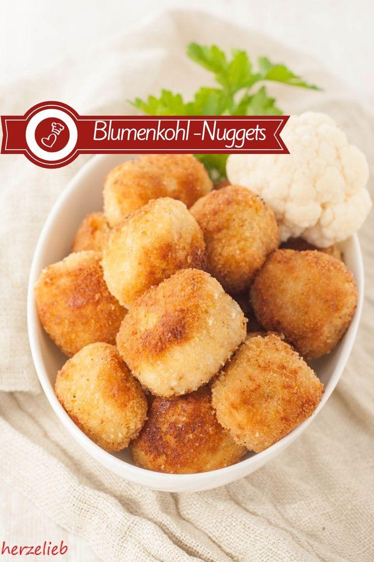 Blumenkohl-Nuggets Rezept - Snack, den Kinder und Erwachsene lieben