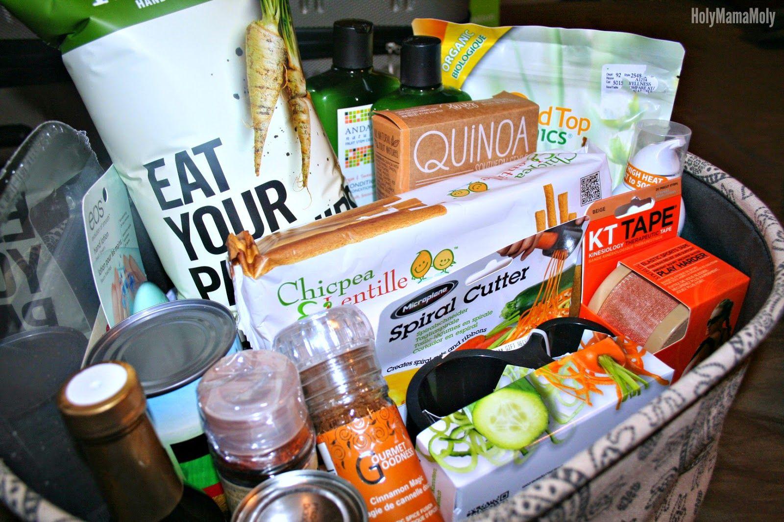 Holymamamoly Mamamonday Health Wellness Basket Health And Wellness Wellness Gifts Diy Health