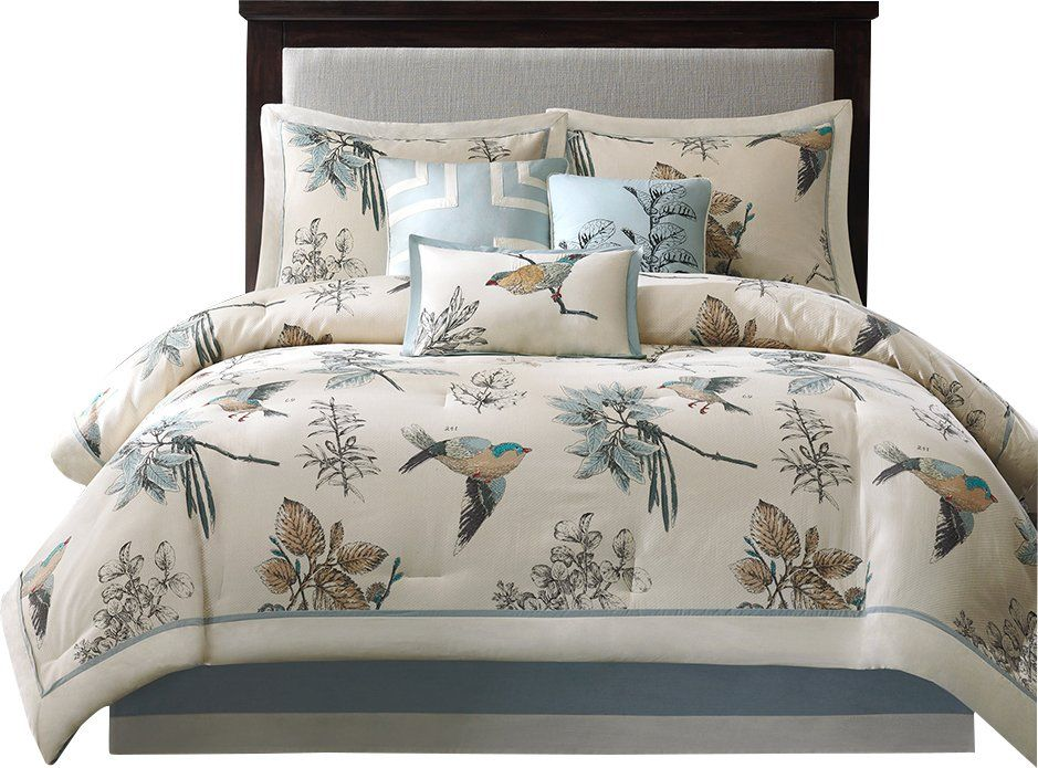 Silvia 180 Thread Count 100 Cotton Comforter Set Comforter Sets King Comforter Sets Luxury Comforter Sets